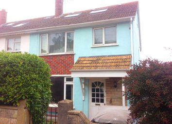 Thumbnail 5 bed semi-detached house to rent in Elm Grove Close, Dawlish