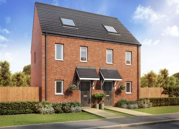 "Thumbnail 3 bedroom end terrace house for sale in ""The Moseley"" at Primula Close, Weymouth"