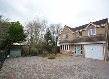 Thumbnail 4 bed detached house for sale in Old Station Close, Etwall, Derby