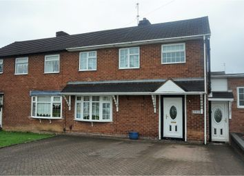 Thumbnail 4 bed semi-detached house for sale in Parkes Hall Road, Dudley