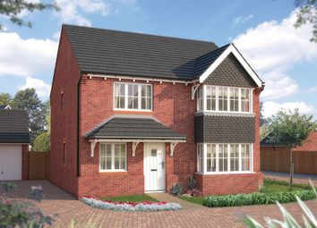 "Thumbnail 4 bedroom detached house for sale in ""The Canterbury"" at Tixall Road, Tixall, Stafford"