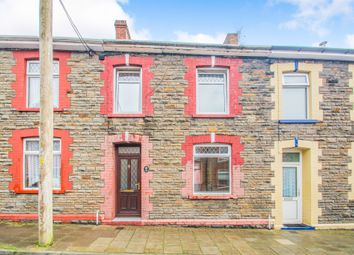 Thumbnail Terraced house for sale in Coronation Street, Trethomas, Caerphilly
