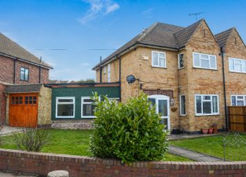 Thumbnail 4 bed semi-detached house for sale in Ethel Road, Evington, Leicester