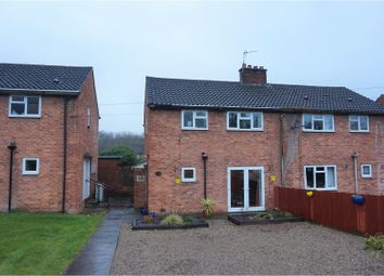 Thumbnail 3 bed semi-detached house for sale in Dolgoch, Oswestry