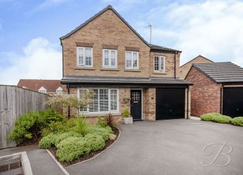 Thumbnail 4 bed detached house for sale in Jade Court, Mansfield