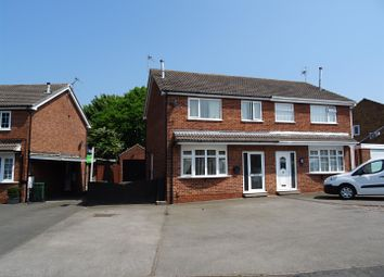 Thumbnail 3 bed semi-detached house for sale in Penrith Avenue, Shepshed, Leicestershire