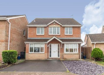 Thumbnail 4 bedroom detached house for sale in Matthysens Way, St. Mellons, Cardiff