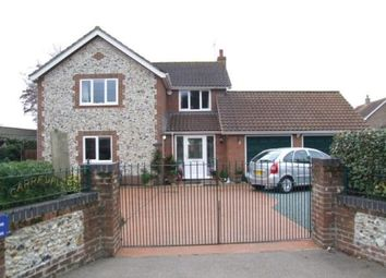 Thumbnail 4 bedroom detached house for sale in Hopton, Diss, Suffolk