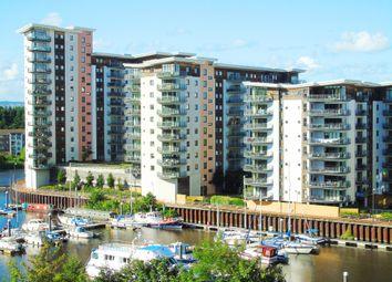 Thumbnail 2 bedroom flat for sale in Watkiss Way, Victoria Wharf, Cardiff
