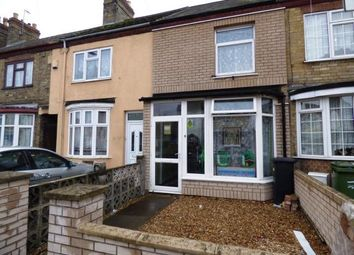Thumbnail 3 bed terraced house for sale in Padholme Road, Eastfield, Peterborough, Cambridgeshire