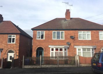 Thumbnail 3 bed semi-detached house for sale in Siddalls Street, Burton-On-Trent