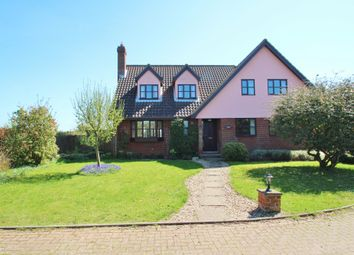 Thumbnail 5 bed detached house to rent in Tye Green, Barking, Ipswich