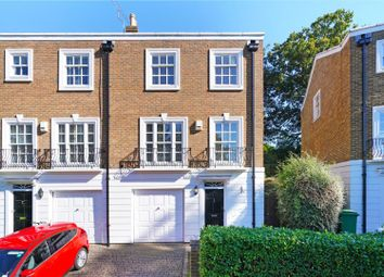 Thumbnail 4 bed terraced house for sale in Grosvenor Place, Vale Road, Weybridge, Surrey