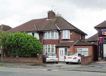 Thumbnail 3 bedroom semi-detached house for sale in Bury Old Road, Whitefield, Whitefield Manchester