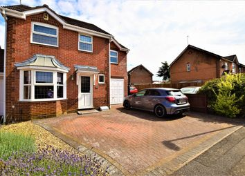 Thumbnail 4 bed detached house for sale in Lambrook Drive, East Hunsbury, Northampton