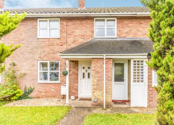 Thumbnail 2 bed terraced house for sale in Baldwin Close, Wittering, Peterborough
