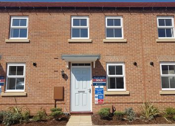 Thumbnail 3 bed terraced house to rent in John Boden Way, Loughborough, Leicestershire