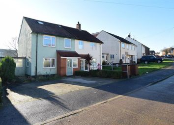 4 bed semi-detached house for sale in Aylesford Crescent, Twydall, Gillingham, Kent ME8