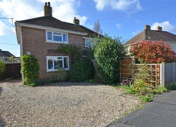 Thumbnail 2 bed semi-detached house for sale in Corbin Road, Pennington, Lymington, Hampshire