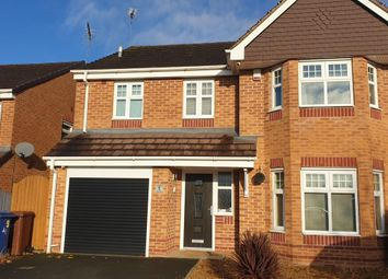 Thumbnail 4 bed detached house for sale in Barn Way, Wimblebury, Cannock