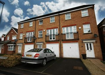 Thumbnail 4 bed town house for sale in St. Christopher Drive, Wednesbury
