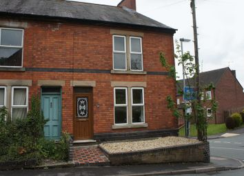 Thumbnail 2 bed end terrace house to rent in Church Street, Tutbury, Burton-On-Trent