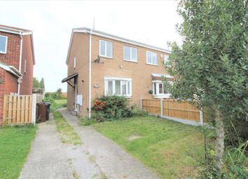Thumbnail 2 bed semi-detached house for sale in Pagnell Avenue, Thurnscoe, Rotherham, South Yorkshire