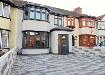 Thumbnail 4 bed terraced house to rent in Rydal Crescent, Perivale, Greenford, Greater London