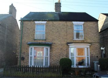 Thumbnail 3 bed semi-detached house for sale in Bourne Road, Alford, Lincolnshire