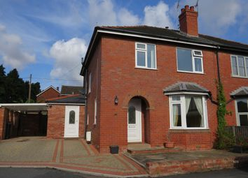 Thumbnail 3 bed semi-detached house for sale in Folly Drive, Hereford