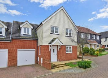 Thumbnail 3 bed link-detached house for sale in Marre Lane, Hawkinge, Folkestone, Kent