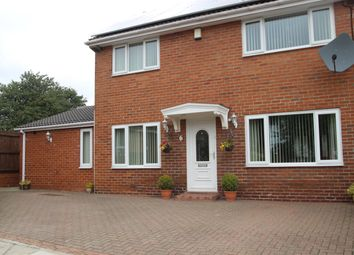 Thumbnail 4 bed semi-detached house for sale in Fossdyke, Gateshead