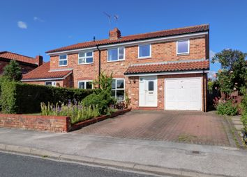 Thumbnail 4 bed semi-detached house for sale in Cawood Road, Wistow, Selby