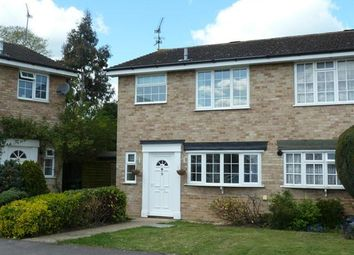 Thumbnail 3 bed semi-detached house to rent in Waterloo Crescent, Wokingham