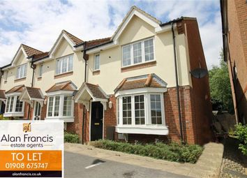 Thumbnail 3 bed end terrace house to rent in Boroughbridge, Oakhill, Milton Keynes, Bucks