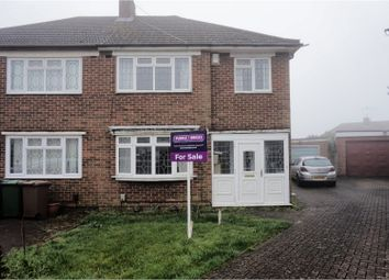 Thumbnail 3 bed semi-detached house for sale in Uplands, Luton