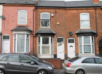 Thumbnail 3 bed terraced house for sale in Wellington Road, Handsworth, Birmingham