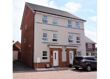 Thumbnail 4 bed semi-detached house for sale in Buckmaster Way, Rugeley