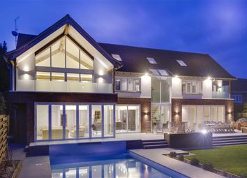 Thumbnail 5 bed detached house for sale in Walmar Close, Hadley Wood, Hertfordshire