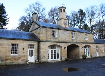 Thumbnail 2 bed cottage to rent in Mitford Hall Estate, Mitford, Morpeth