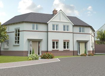 Thumbnail 3 bed semi-detached house for sale in Church View, Hugglescote, Leicestershire
