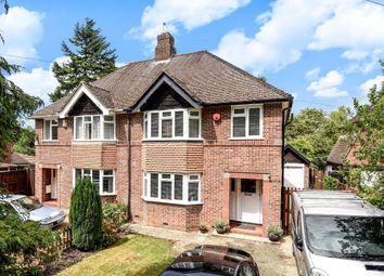 Thumbnail 3 bed semi-detached house for sale in Burlington Crescent, Headington