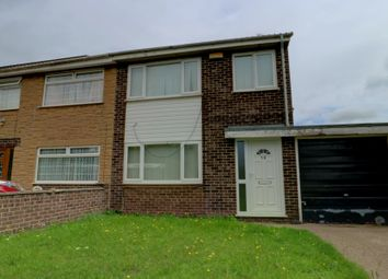 Thumbnail 3 bed semi-detached house for sale in Fleet Close, Nottingham