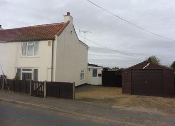Thumbnail 2 bedroom semi-detached house for sale in Main Street, Gedney Dyke, Spalding