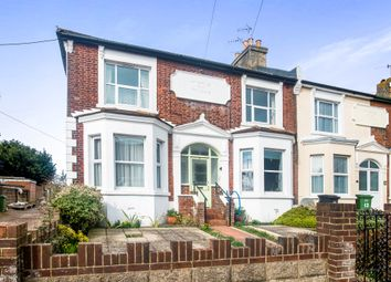 Thumbnail 2 bed flat for sale in Canute Road, Hastings