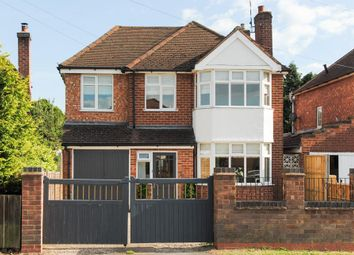 Thumbnail 4 bed detached house for sale in Heathcote Road, Whitnash, Leamington Spa