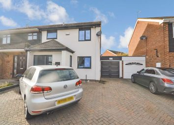 Thumbnail 3 bed semi-detached house for sale in Stenning Avenue, Linford, Stanford-Le-Hope