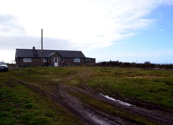 Thumbnail 3 bedroom detached bungalow for sale in Llangwnnadl, Pen Llyn, Llyn Peninsula, North West Wales