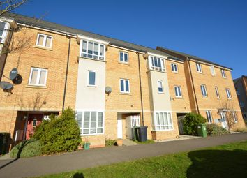 Thumbnail 4 bed terraced house for sale in Clayburn Road, Hampton Centre, Peterborough