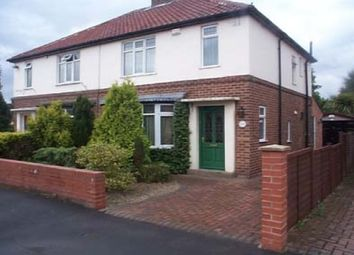 Thumbnail 3 bedroom semi-detached house to rent in Galtres Avenue, York